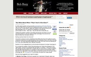 """""""Bob Burg"""""""
