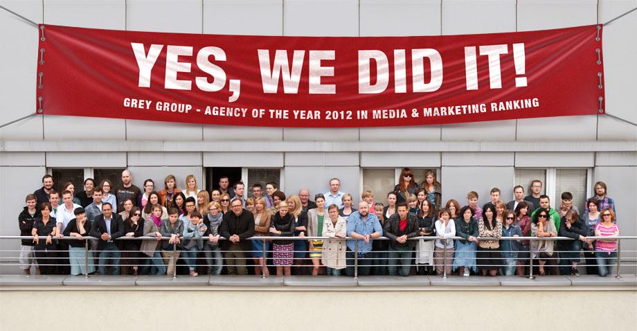 Advertising agency grey london